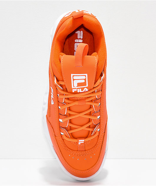 FILA Disruptor II Orange Shoes