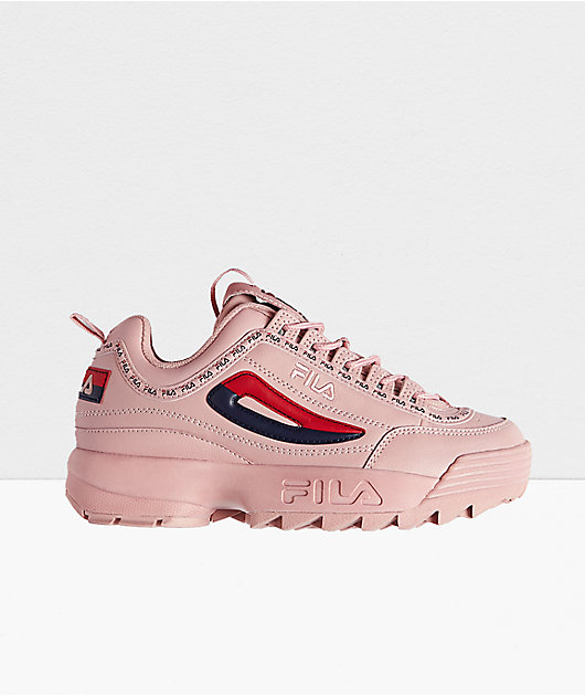 FILA Disruptor II Premium Pink Shoes