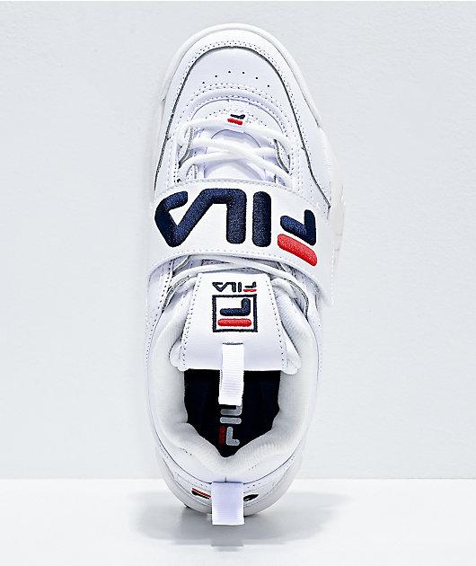 FILA Disruptor II Strap White Shoes
