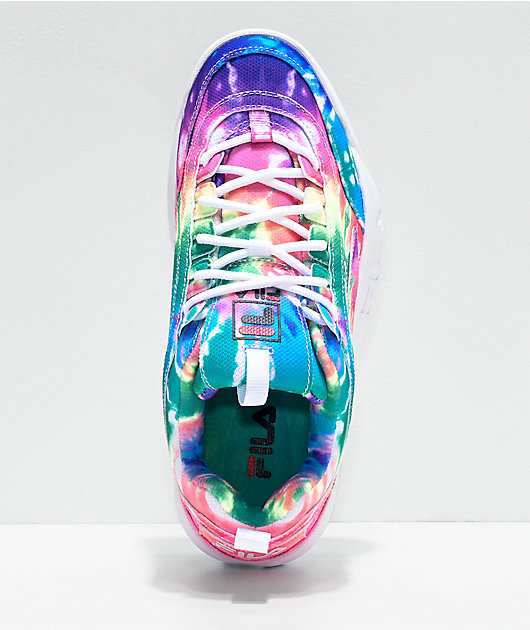 FILA Disruptor II Tie Dye Print Shoes