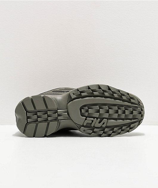 FILA Disruptor II zapatos verdes