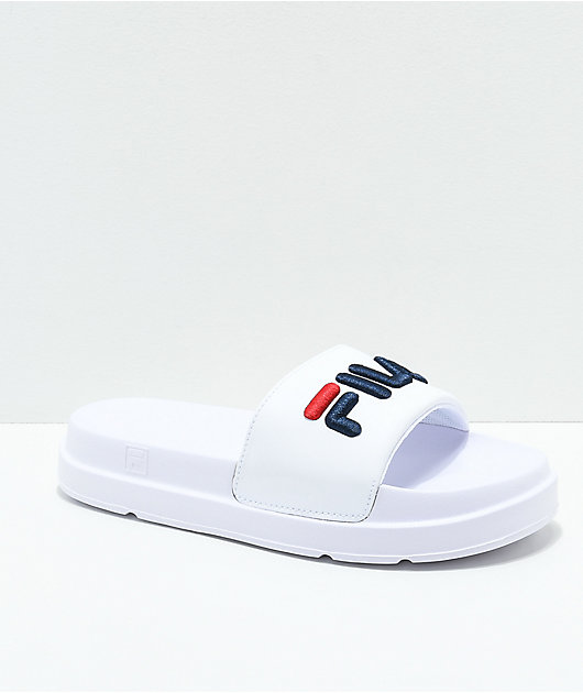 FILA Drifter Bold White, Navy and Red