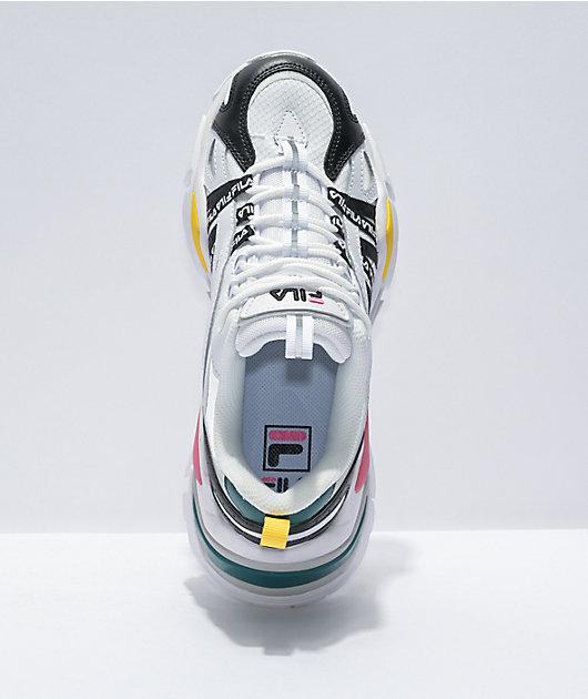 FILA Electrove White & Multi Shoes