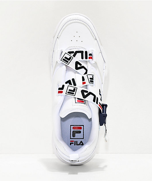 FILA Fast Charge White Shoes