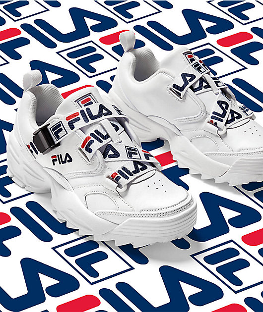 FILA Fast Charge zapatos blancos