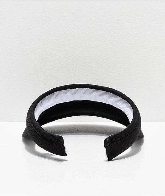 FILA Hard Shell visera de algodón negro