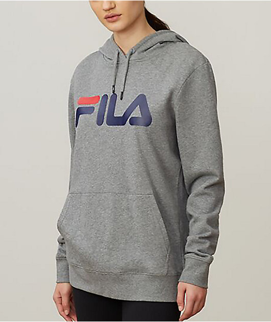 FILA Lucy Grey, Blue & Red Hoodie