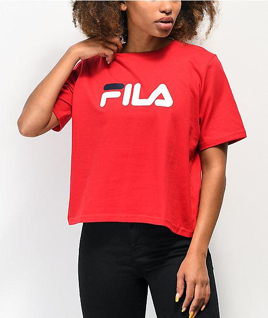 FILA Miss Eagle camiseta roja