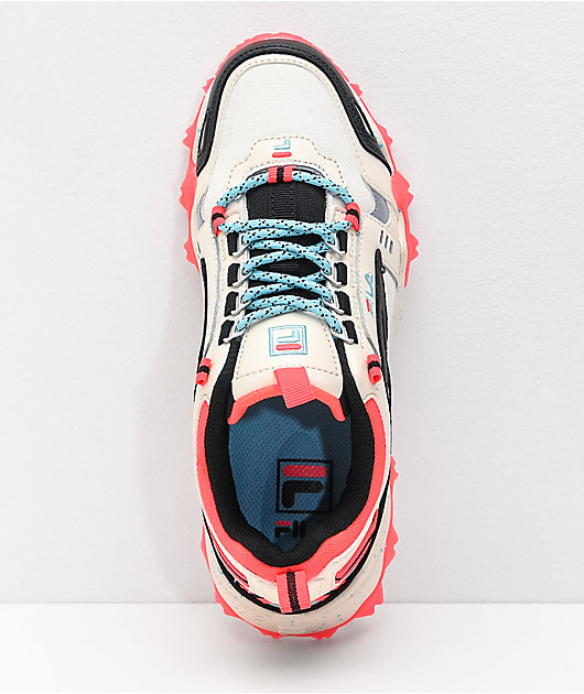 FILA Oakmont Trail Gardenia Pink & White Shoes