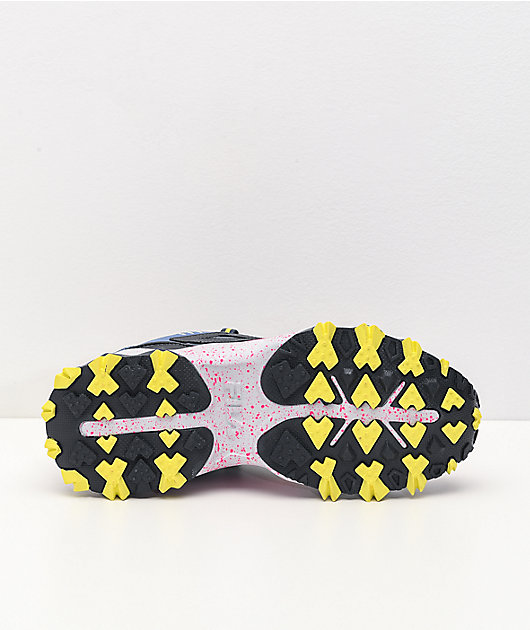 FILA Oakmont Trail Pink, Grey & Glacier Shoes