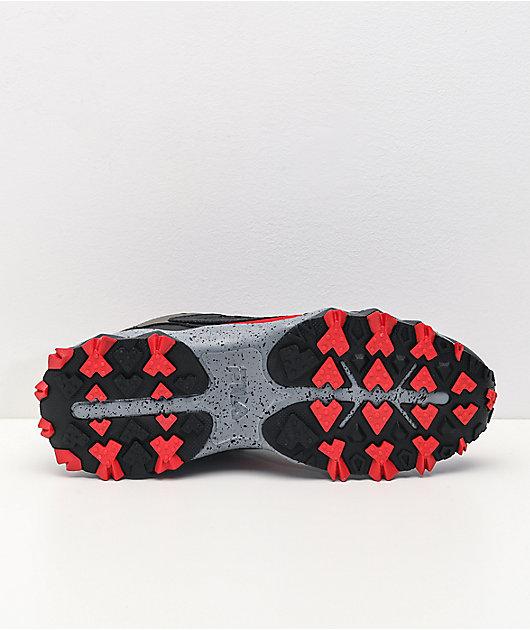 FILA Oakmont Trail Red, Black & Tamarac Shoes