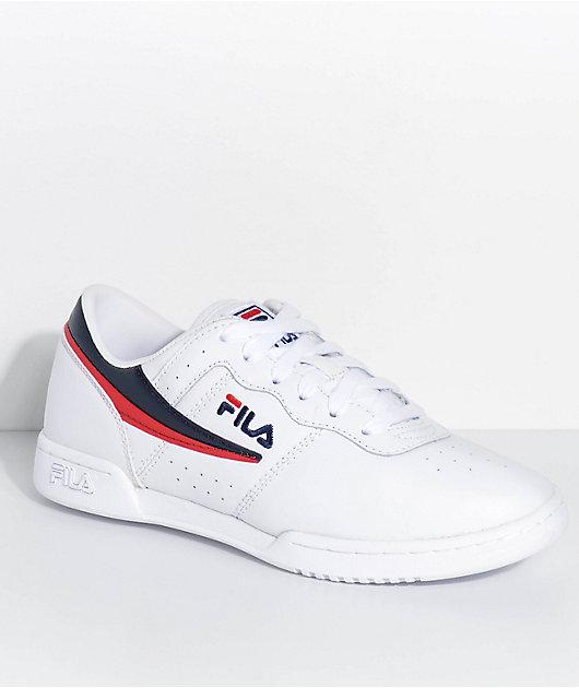 fila original white
