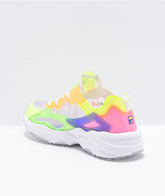 FILA Ray Tracer Retro Translucent Shoes