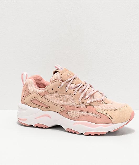 FILA Ray Tracer zapatos rosas | Zumiez