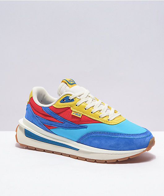 FILA Renno Blue & Red Shoes