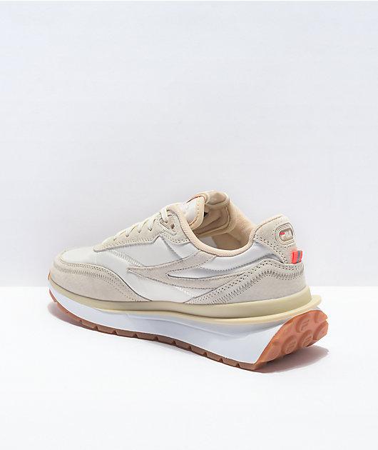 FILA Renno Gardenia, Tapioca & White Shoes