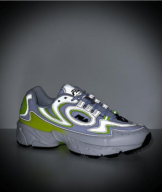 FILA Volante 98 zapatos blancos y amarillos
