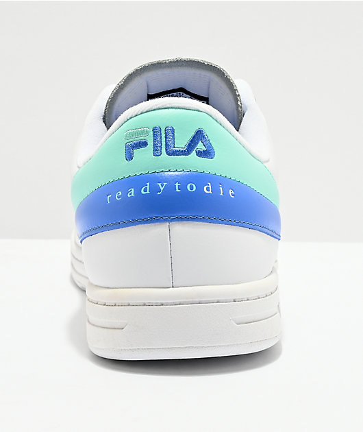 FILA x Notorious B.I.G. Tennis 88 Ready To Die Aqua Shoes