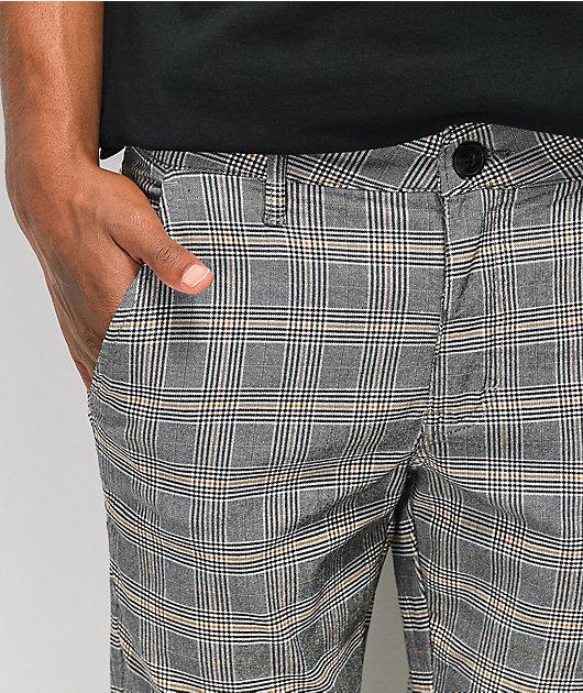 FRESHHELL Plaid Chino Pants