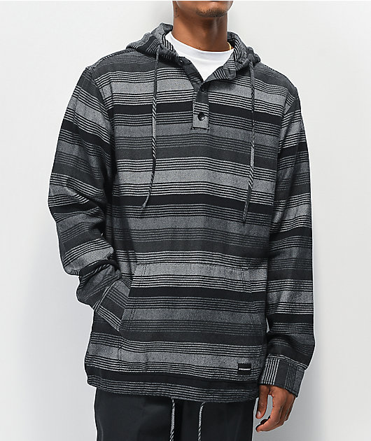 FRESHHELL Tijuana Black & Grey Poncho