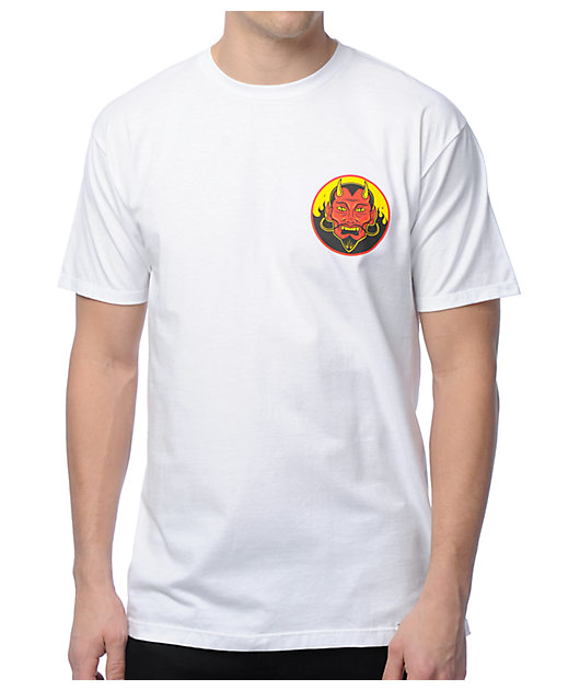 Famous Stars & Straps Welcome To Hell White T-Shirt