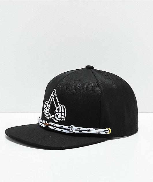 Findlay The Exosso Black Snapback Hat