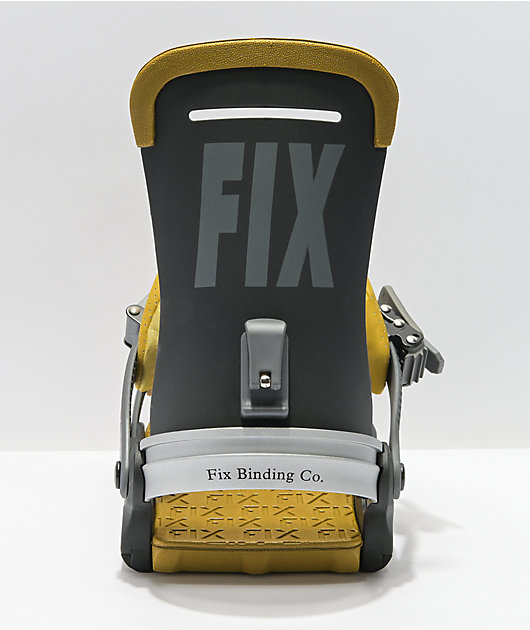 Fix Yale Black Snowboard Bindings