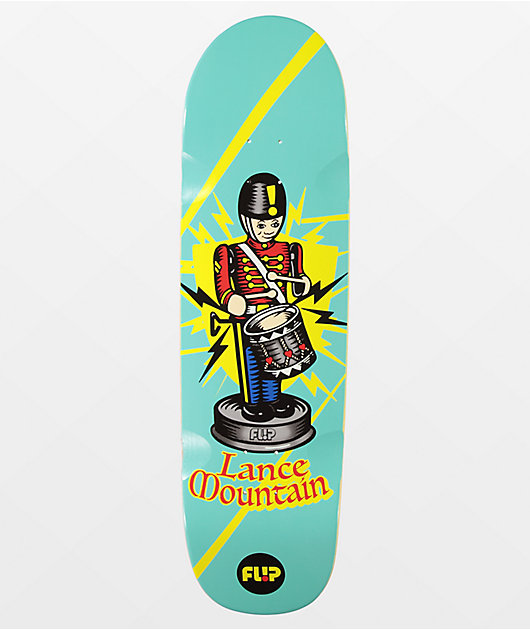 Flip Mountain Tin Toy 8.75