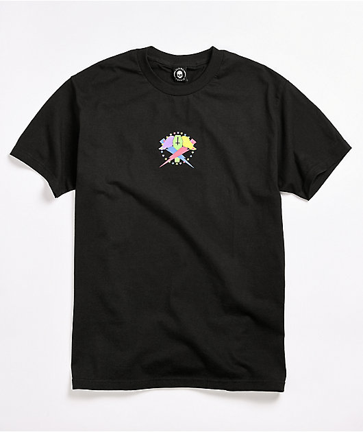 Flying Coffin Multi Bolts Black T-Shirt
