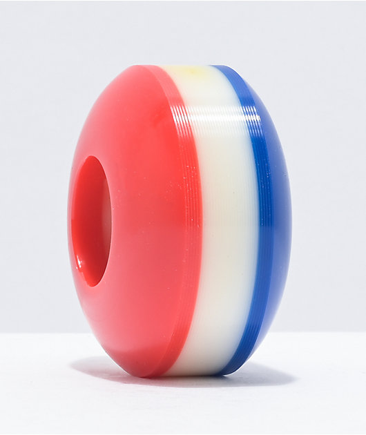 Form Blank 53mm 99a Red, White & Blue Skateboard Wheels