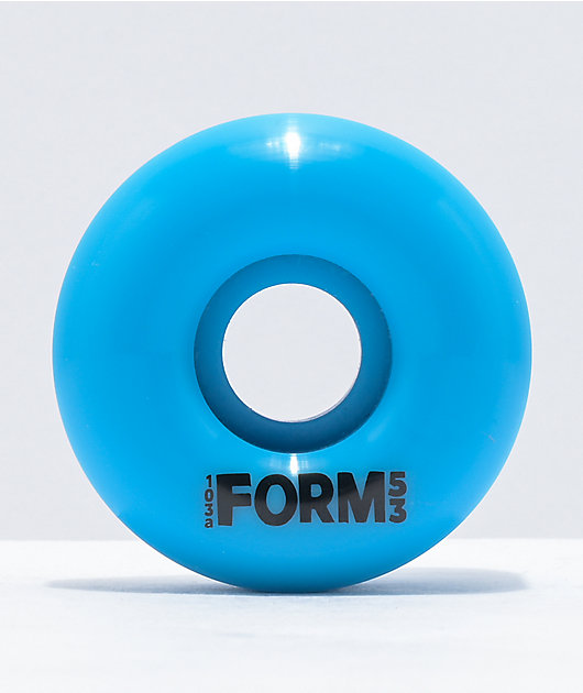 Form Ocean Blue 53mm 103a Skateboard Wheels