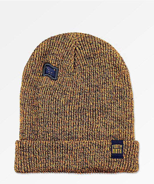 Forty Ninth Supply Co. The Dipper Brown & Navy Beanie