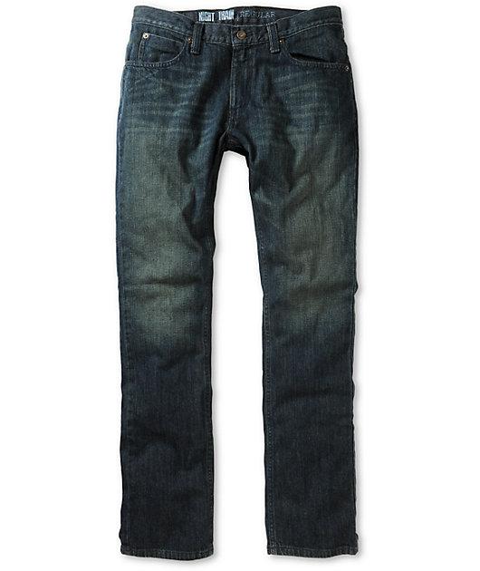 Free World Night Train Dirty Rinse Regular Fit Jeans (Past Season)