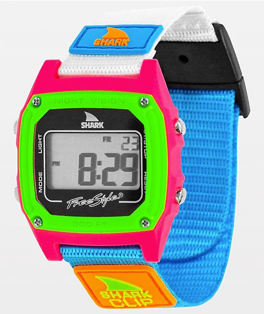 Freestyle Shark Classic Clip Black Neon Digital Watch