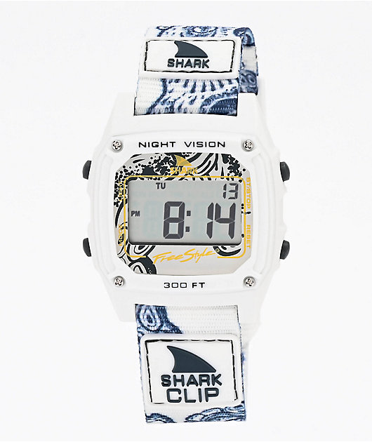 Freestyle Shark Classic Clip Octopus White Digital Watch