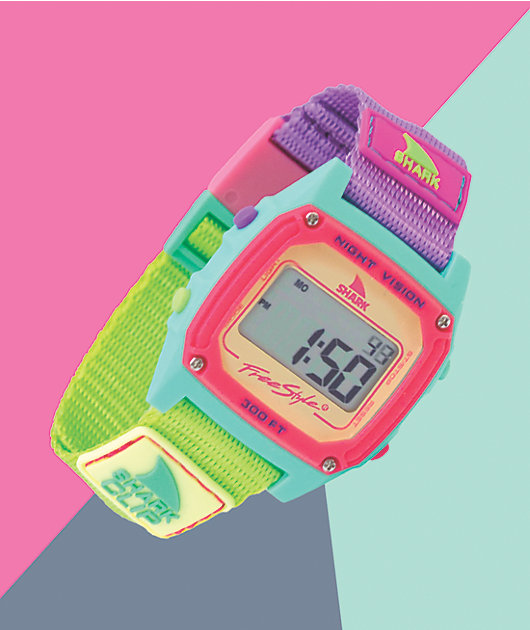 Freestyle Shark Classic Clip Sour Apple Digital Watch