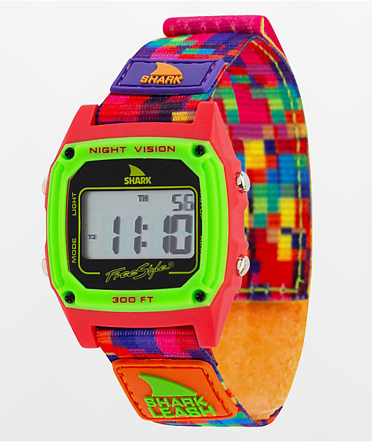 Freestyle Shark Classic Leash Aloha Pink Digital Watch