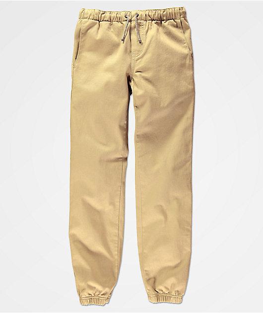 Freeworld Boys Remy Khaki Jogger Pants