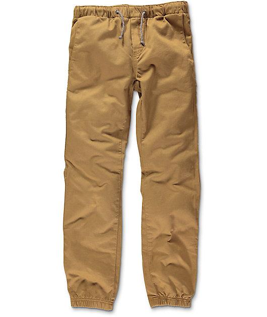 Freeworld Boys Remy Tobacco Jogger Pants