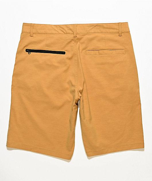Freeworld Classified Gold Hybrid Shorts