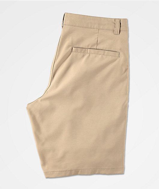 Freeworld Classified Khaki Hybrid Shorts