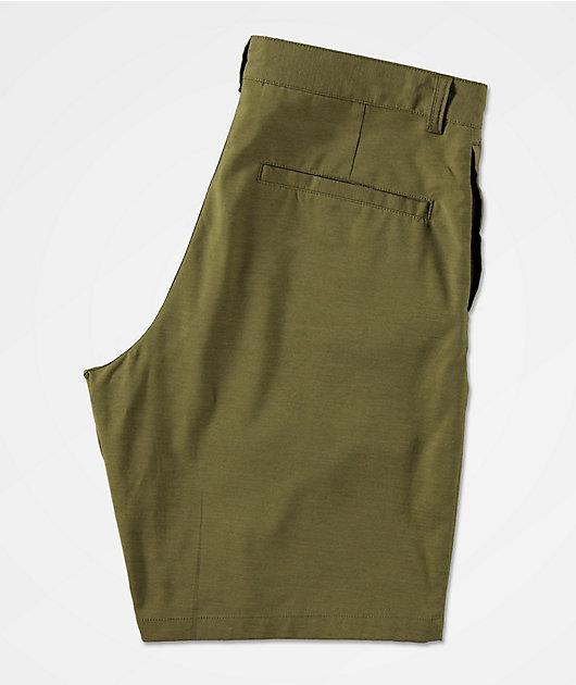 Freeworld Classified Olive Hybrid Shorts