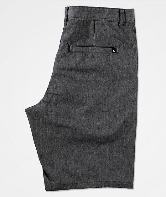 Freeworld Discord Heather Grey Chino Shorts