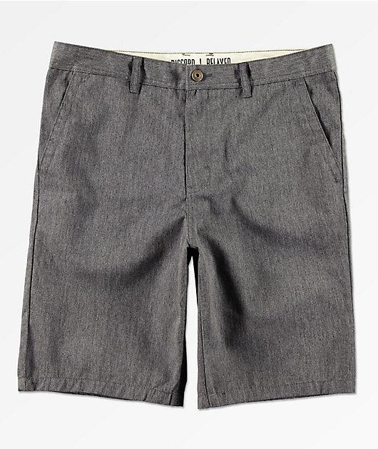 Freeworld Discord shorts chinos en gris oscuro