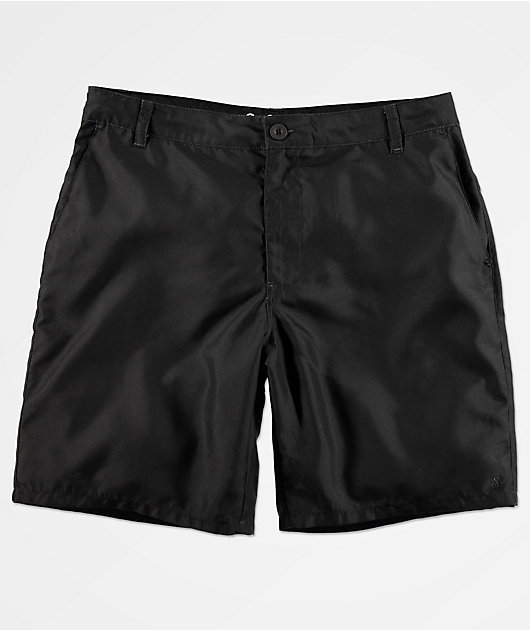 Freeworld Glazed Black Hybrid Shorts