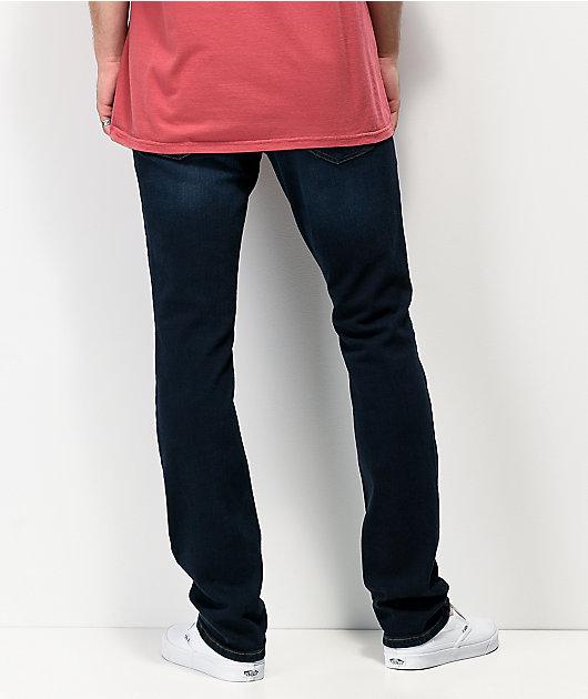 Freeworld Messenger League jeans ajustados elásticos azul oscuro