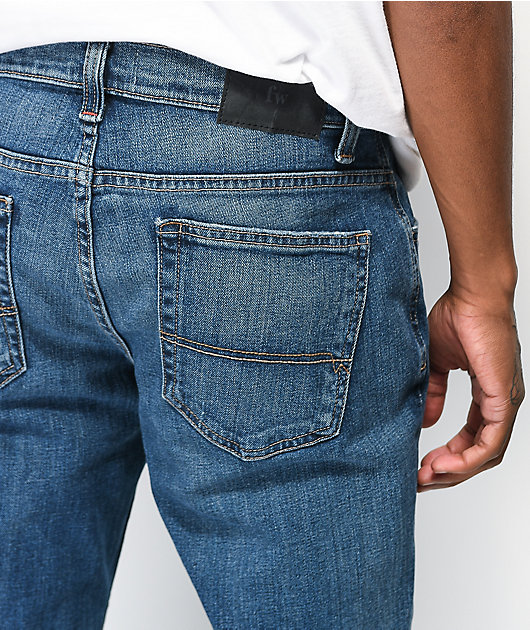 Freeworld Messenger Nickelson Stretch Skinny Jeans