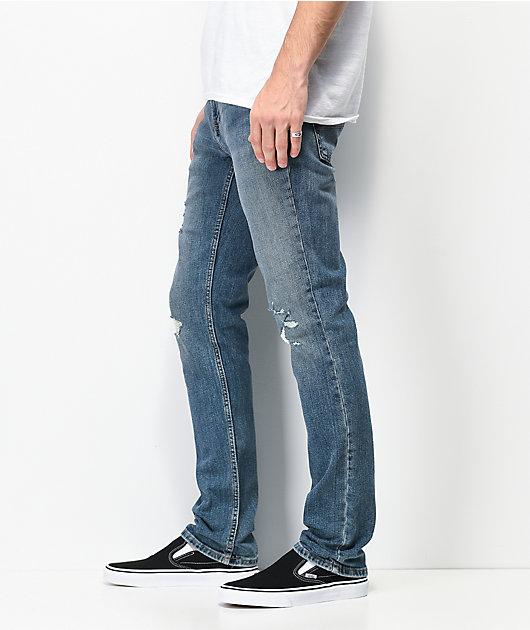Freeworld Messenger Walken jeans ajustados elásticos