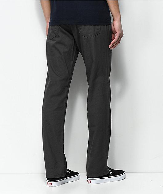 Freeworld Night Train 5 Pocket Charcoal Twill Pants