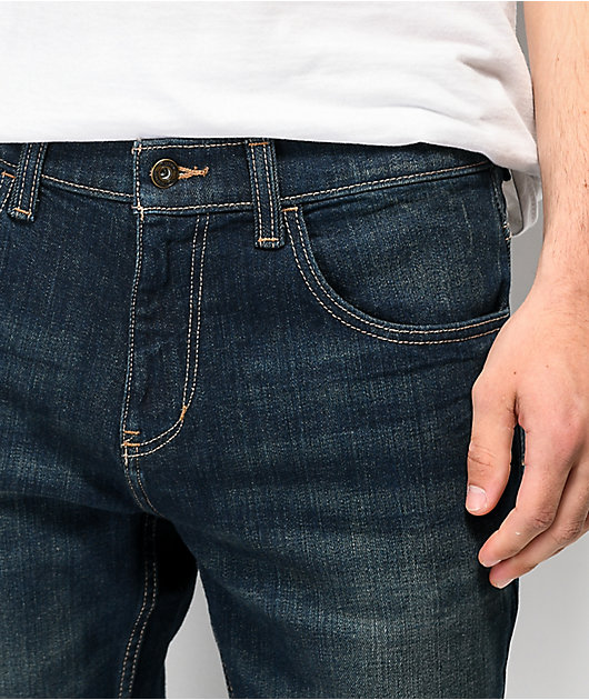Freeworld Night Train Dirty Rinse Stretch Denim Jeans